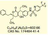 HIV蛋白酶抑制剂替拉那韦